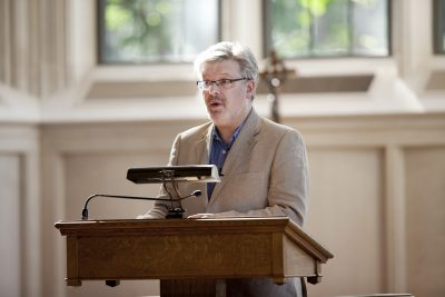 James MacMillan gives a lecture on the St. Luke Passion.