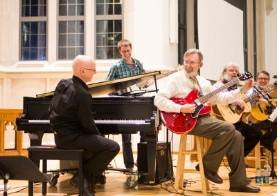 Goodson Chapel -- artists perform
