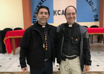 Bishop Jorge Merino of Chile and Edgardo Colón-Emeric