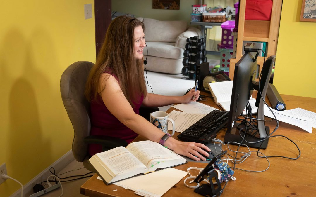 Thea Portier-Young Builds Community in Online Classroom