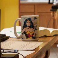 Portier-Young's Wonder Woman mug