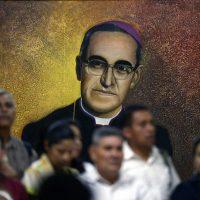 Mural of Saint Oscar Romero in El Salvador