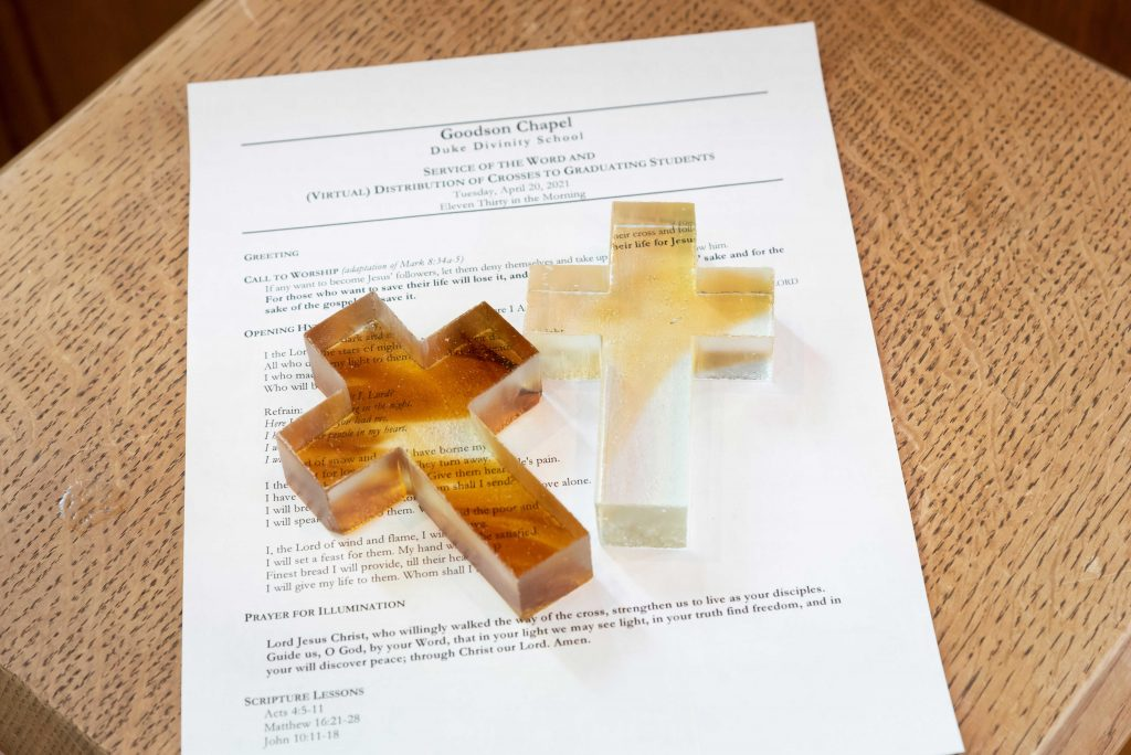 glass crosses and service program