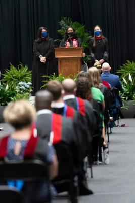 May 5 graduation event in Cameron Indoor Stadium